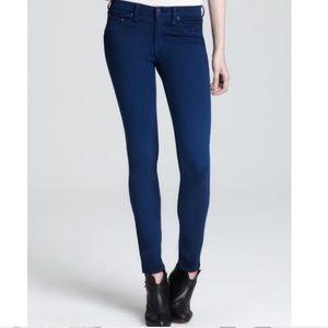 Rag & Bone The Legging Blue Skinny Jean